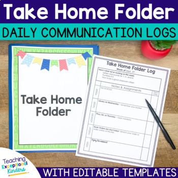 Take Home Folder Pack
