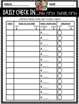Take Home Folder Pack & More: Editable Melonheadz