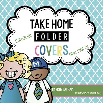 Take Home Folder Pack & MORE: Editable