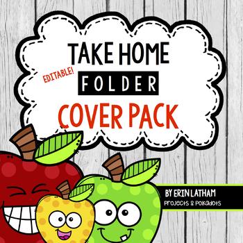 Take Home Folder Pack & More: Editable Apples