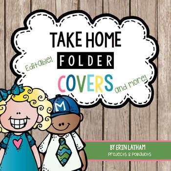 Take Home Folder Pack & More: Editable Rustic Melonheadz