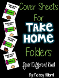communication folder - cover Sheet (Bright Green Pencil with Kids) can be edited