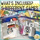 Take Home Games JULY Edition; 5 Games for Home or School Use