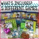 Take Home Games JUNE Edition; 5 Games for Home or School Use