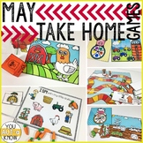 Take Home Games MAY Edition; 5 Games for Home or School Use