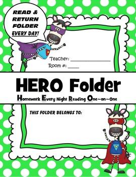 Take Home H.E.R.O Folder