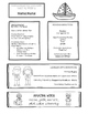 Take-Home Handouts for Common Core Reading Street - Kindergarten Unit 5