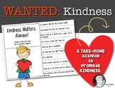 Take Home Kindness Activity for Kids! Teaching Ways to Show Kindness