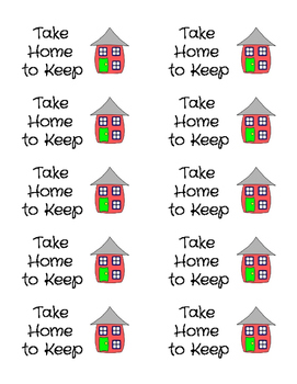 Take Home Labels