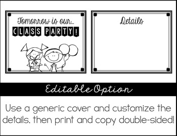 Take Home Notes from the Teach: Easy Peasy Printables & Stickers!