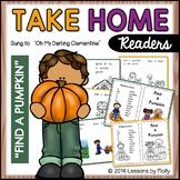 Take Home Reader/Pumpkin Patch - Find A Pumpkin