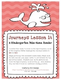 Take-Home Reader for Journeys Lesson 14