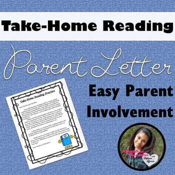 Take Home Reading Book Reading Practice- Letter to Parents