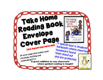 Take Home Reading Envelopes (I'm Rocking My Reading) and S