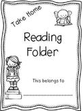 Take Home Reading Folder FREEBIE