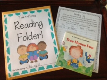 Take-Home Reading Folders