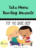 Take Home Reading Journals for the Whole Year
