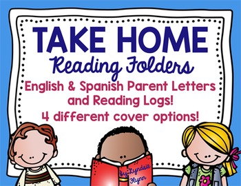 Take Home Reading Packet | English & Spanish | Parent Lett