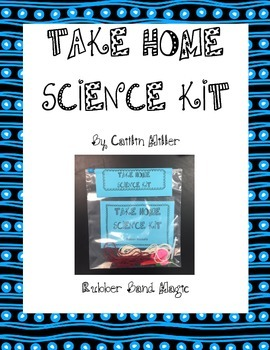 Take Home Science Kit Printable - Rubber Band Magic