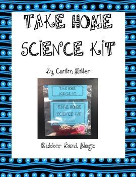 Take Home Science Kit Printable - Rubber Band Magic