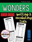 Take Home Spelling & Vocabulary List Grade 6