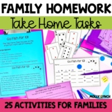 Homework for Families! {Includes English & Spanish Versions}