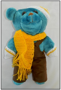 Take Home Ted Blue Bear 1 (Family Visits, Sharing, Trips,