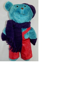Take Home Ted Blue Bear 6 (Family Visits, Sharing, Trips, Journals, Holidays)