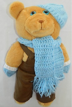 Take Home Ted Honey Bear 4 (Family Visits, Sharing, Trips, Journals, Holidays)