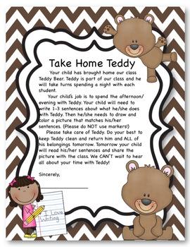 Take Home Teddy