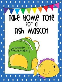 Take Home Tote for a Fish Mascot