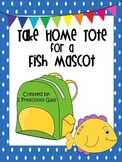 Take Home Tote for a Fish Mascot