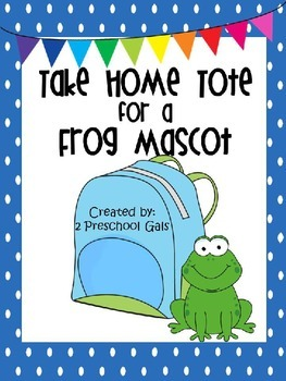 Take Home Tote for a Frog Mascot