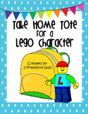 Take Home Tote for a Lego Character