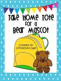 Take Home Tote for a Teddy Bear Mascot