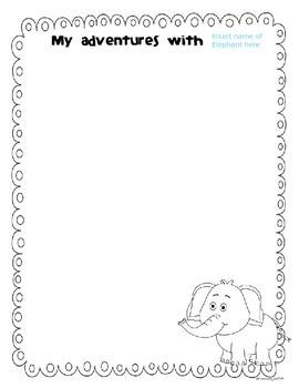 Take Home Tote for an Elephant Mascot