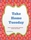 Take Home Tuesday