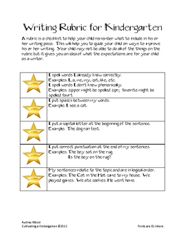 Take Home Writing Journal