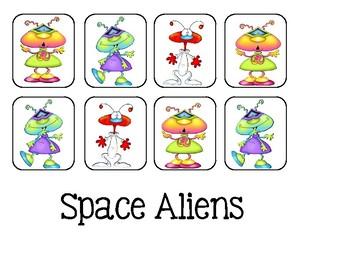 Take It Home - Alien Math Game