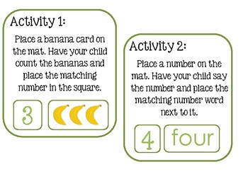 Take It Home - Going Bananas Over Counting 1-10