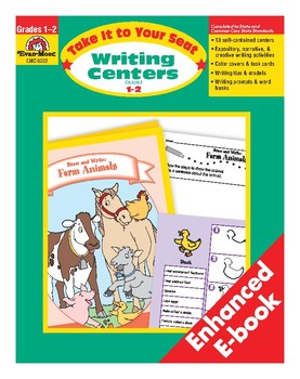 Take It to Your Seat Writing Centers, Grades 1-2