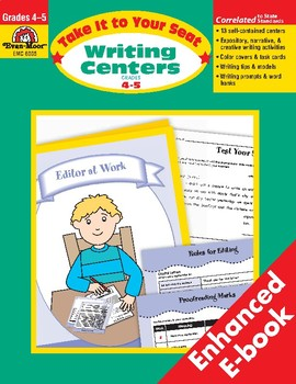 Take It to Your Seat Writing Centers, Grades 4-5