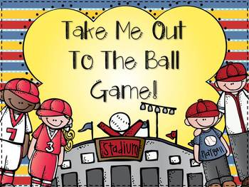 Take Me Out To The Ball Game {7 Math and 7 Literacy Baseball Themed Centers}