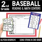 Take Me Out To The Ballgame Baseball ELA & Math Activities