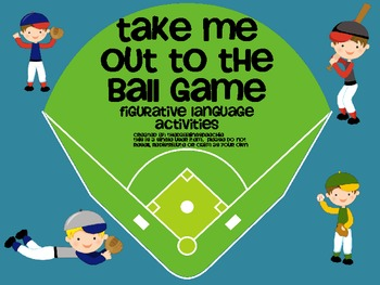 Take Me Out to the Ball Game-Idioms Pack