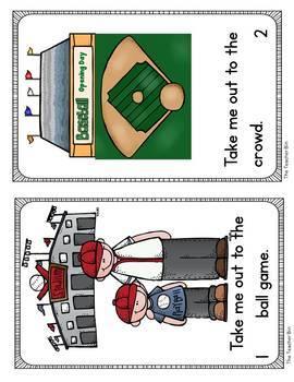 Kindergarten -Primary Ed.- SpEd.-Math - Baseball-Math & Literacy