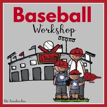 Kindergarten -Primary Ed.- SpEd.-Math - Baseball-Workshop