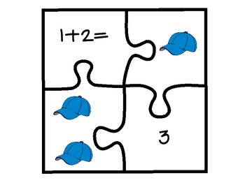 Take Me Out to the Ballgame! Addition Puzzles for Sums 0-5