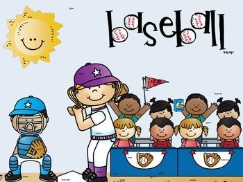 Take Me Out to the Ballgame: Five Baseball Literacy Centers Ronald Morgan