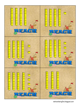 Take Me Out to the Ocean ~ Beach Themed Math and Literacy